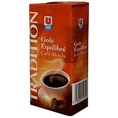 Cafe moulu Tradition U 1 x 250g