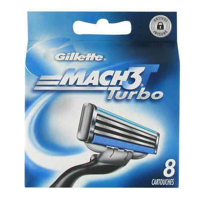 lames de rasoir turbo mach 3 tous les produits rasoirs. Black Bedroom Furniture Sets. Home Design Ideas