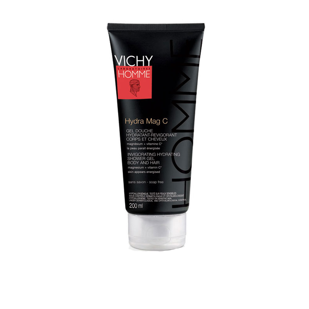 Vichy Homme Hydra Mag C Invigorating Hydrating Shower Gel 200ml