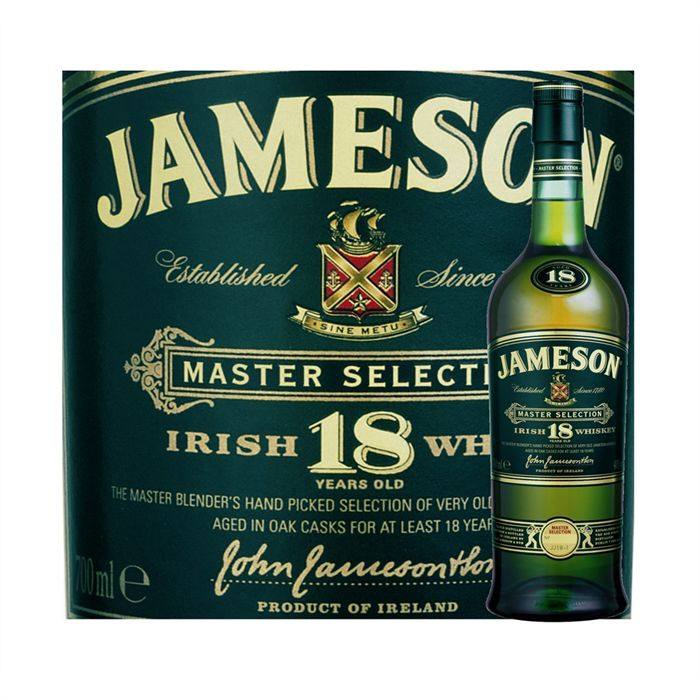 Jameson Whisky Irish 18 ans 70 cl