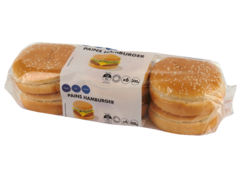 Pains hamburger x6 300g