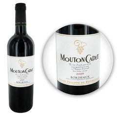 BORDEAUX MOUTON CADET 13.5% 09 75CL