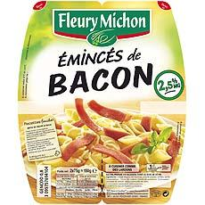 Eminces de bacon Fleury michon, 2x75g