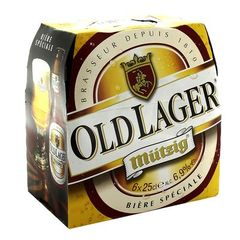 Biere OLD LAGER, 6,9°, 6x25cl