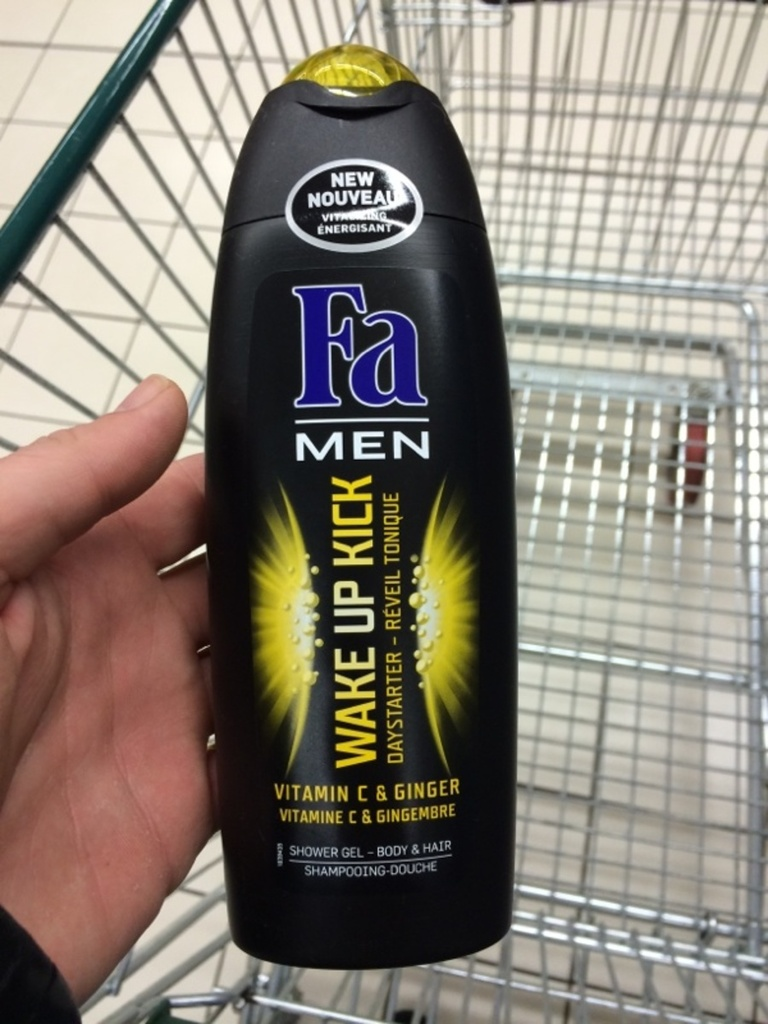 Fa men douche wake up kick 250ml