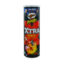 Tuiles Pringles Xtra Sauce chili - 150g