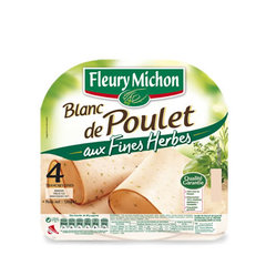 Filet de poulet aux fines herbes