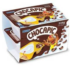 Nestle chocapic yaourt gout vanille 2x118g