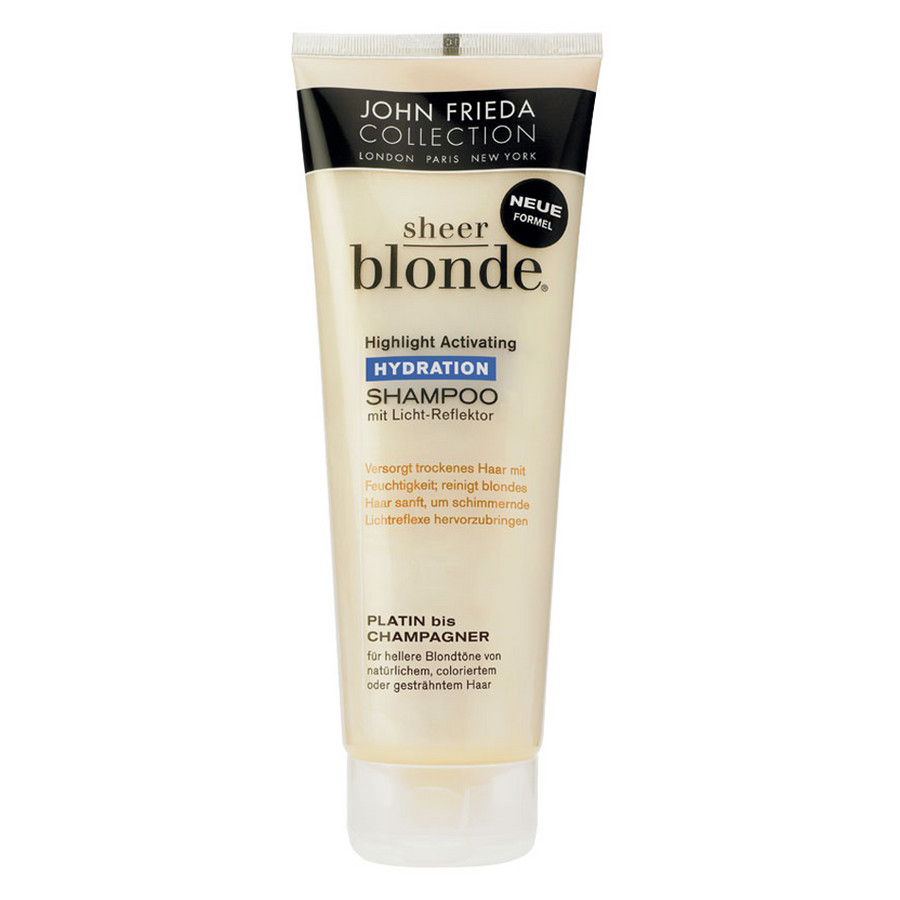 Shampooing Sheer Blonde nutrition active, platine champagne 1 x 250ml
