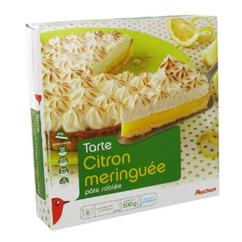 Tarte citron meringuee pate sablee tous les produits boulangerie prixing - Carbonate de sodium danger ...