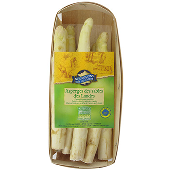 Asperges blanches des Landes Nos Regions ont du Talent 500g