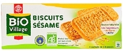Biscuits sesame Bio Village 230g