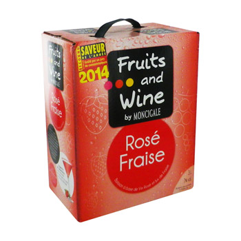 rose fraise fruits & wine moncigale 3l
