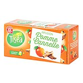 Infusion Tiséa pomme cannelle 25 sachets 55g