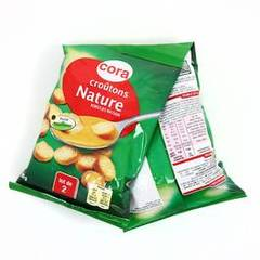 Cora croutons soupe ronds frits nature 2x90g