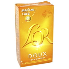Cafe moulu Arabica Doux, Gourmand et Delicat