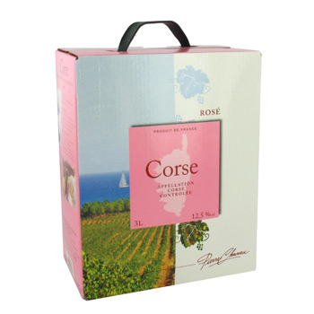 Pierre Chanau Corse rose 12,5° -3l