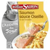 William Saurin saumon sauce oseille pâte 300g