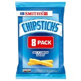 Chipsticks Walkers Smith - Sel et vinaigre (8x22g) - Paquet de 6