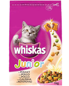 Whiskas sec 1.75kg junior au poulet