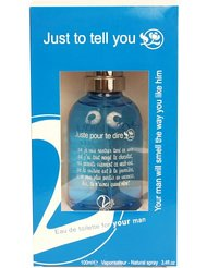 Just to Tell You Eau de Toilette N°2 pour Homme 100 ml