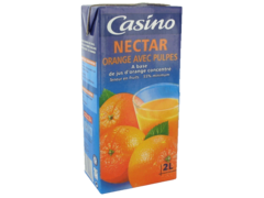 Nectar Casino orange avec pulpes 1 x 2L