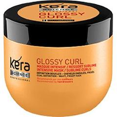 Masque intensif Glossy Curl ressort sublime - Kera Science