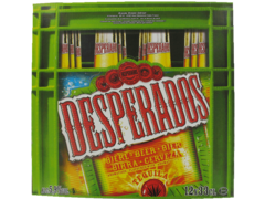 Desperados biere 5,9°pack 12 x 33cl