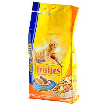 Friskies croquette chat adulte poulet 4kg