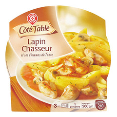 Lapin chasseur Cote Table 280g