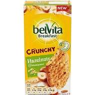 Belvita Breakfast Biscuits croquants noisettes (6x50g) - Paquet de 2