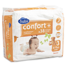 Auchan baby confort + single midi change 4/9kg x38 taille 3