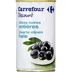 Olives noires entieres