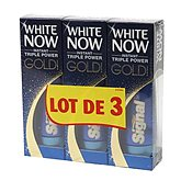 Signal White Now - Dentifrice Instant Triple Power Gold le lot de 3 tubes de 50 ml