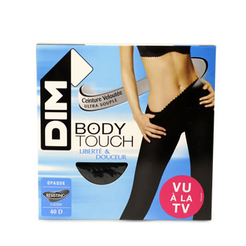 Collant opaque Body Touch DIM, taille 3, noir