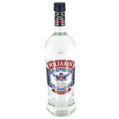 Vodka POLIAKOV, 37,5°, 1l