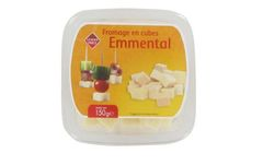 Fromage cubes emmental 150g
