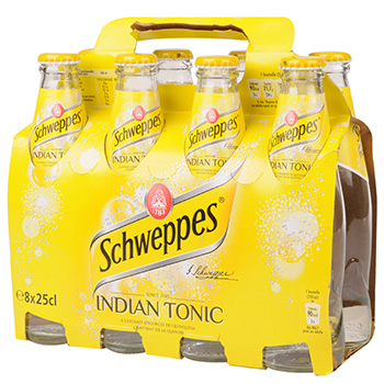 Schweppes Indian Tonic 8x 25cl