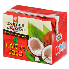 Lait coco Tables du Monde 200ml