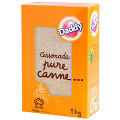 Sucre poudre pure canne Daddy 1kg