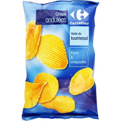 Chips Ondulees salees