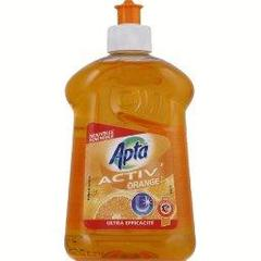Activ' orange, liquide vaisselle concentre, le flacon,500ml