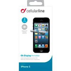 Cellular line, Films de protections pour iphone5, le blister de 2