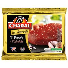 Paves marines echalote Charal Viande bovine francaise 2x130g