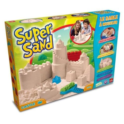 Super sand castle- Moulage sable