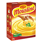 Mousline - Puree nature - 8 x 4 assiettes