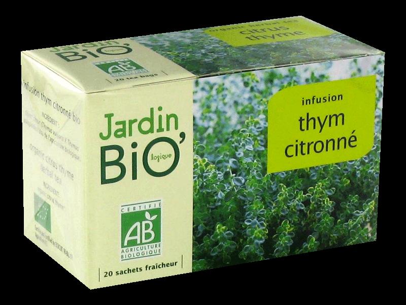 jb infusion thym citronn jardin bio 30g tous les. Black Bedroom Furniture Sets. Home Design Ideas