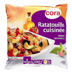 Ratatouille cuisinee