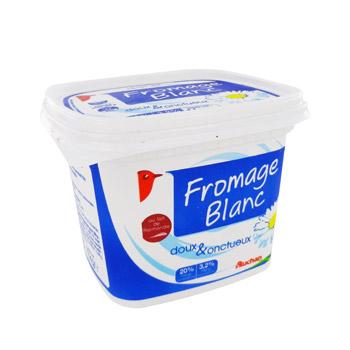 auchan fromage blanc frais 20 1kg tous les produits. Black Bedroom Furniture Sets. Home Design Ideas