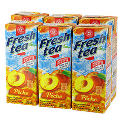 Leclerc the Fresh Tea Peche 6x20cl